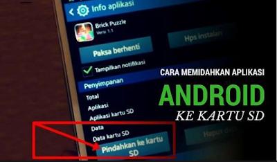 Cara Memindahkan Aplikasi Android dan Data ke Kartu SD dengan mudah