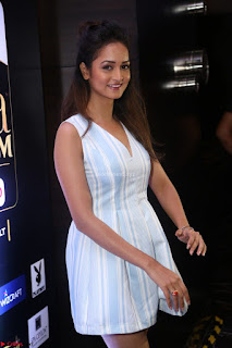 Shanvi Looks super cute in Small Mini Dress at IIFA Utsavam Awards press meet 27th March 2017 101.JPG