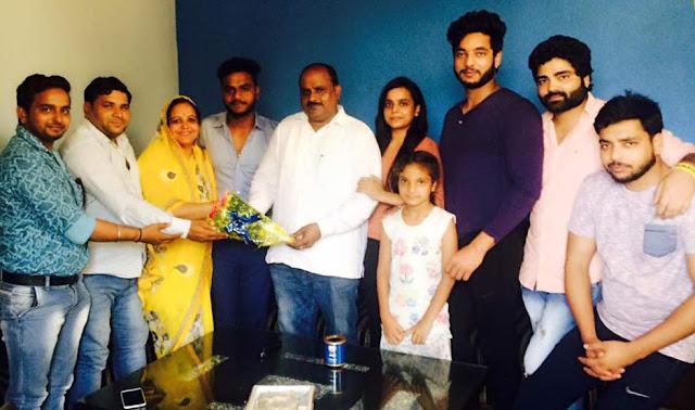 satpal-bhati-bjp-leader-celebrate-birth-day-faridabad