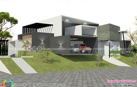 Luxury ultra modern 7000 sq-ft house