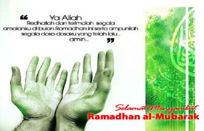 Kumpulan Doa Selama Bulan Ramadhan