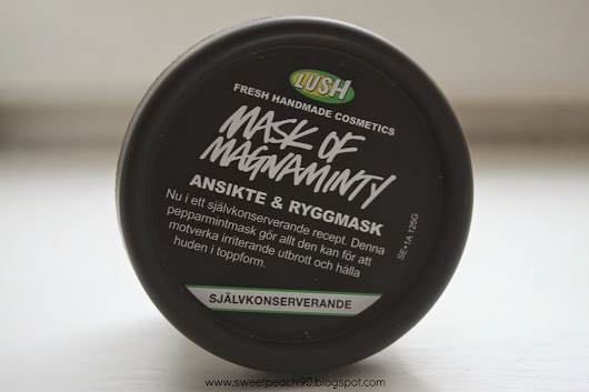 [REVIEW] LUSH Mask of Magnaminty