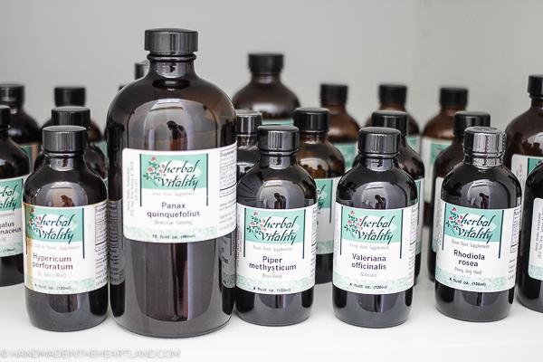 Using botanical herbs for healing