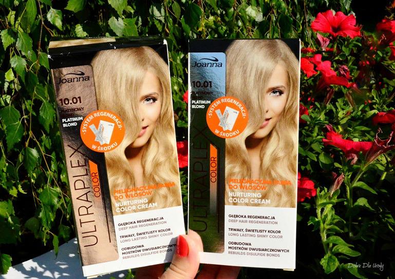 Domowa koloryzacja - Joanna Ultraplex Color Platynowy Blond