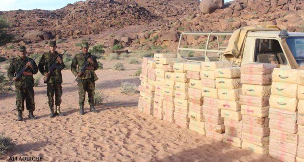 الجيش الصحراوي يعزز من تواجده بمنطقة أشرگان المحررة.