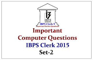 Race IBPS Clerk 2015- Important Computer Questions Set-2