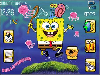 download spongebob theme for blackberry 9800