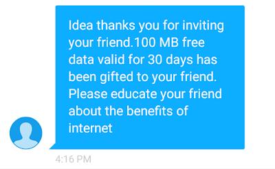 Idea-get-100-mb-free