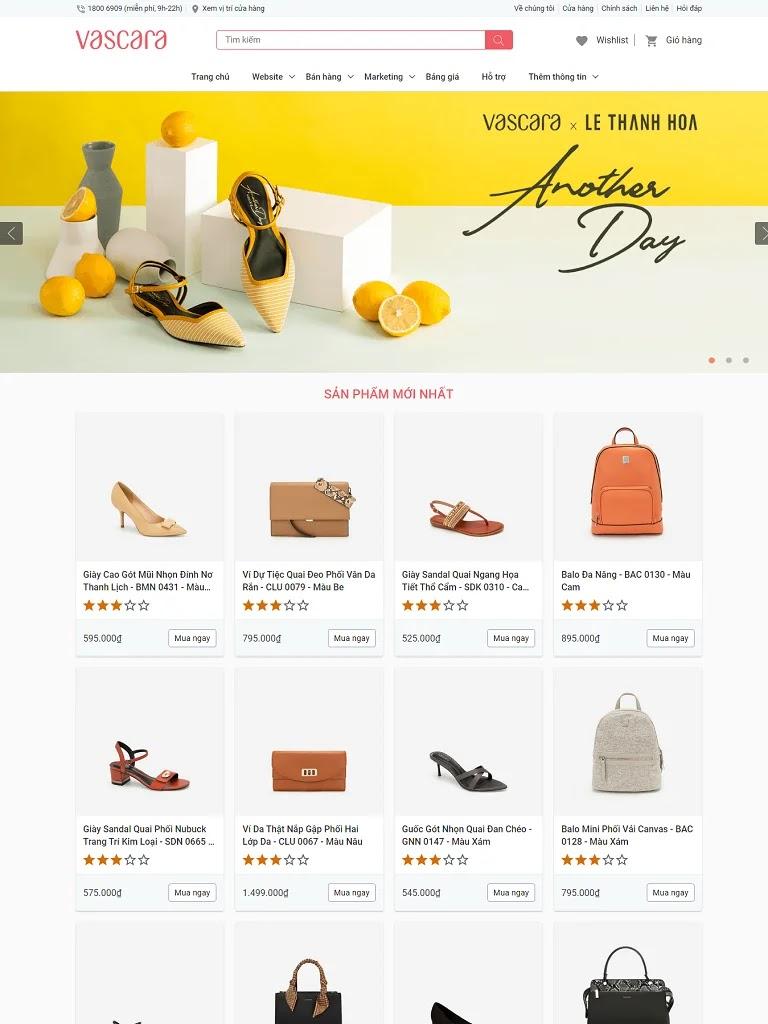 Giao diện blogspot bán túi xách balo thời trang chuẩn seo - Ảnh 1