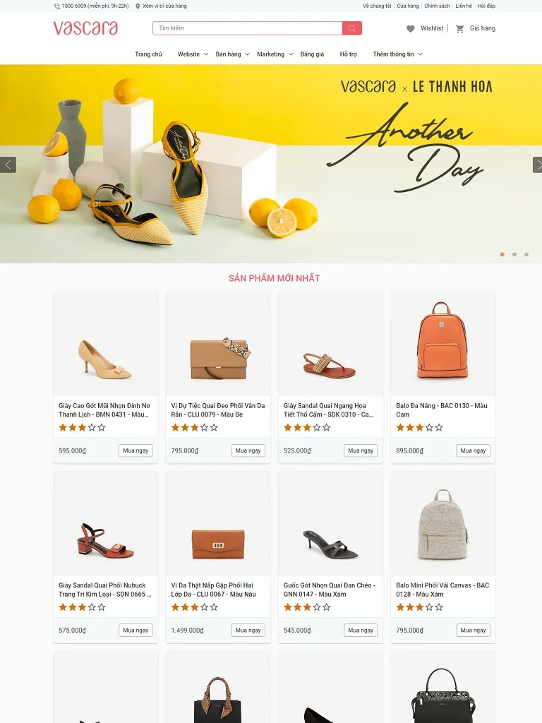 Template blogspot bán túi xách balo thời trang chuẩn seo