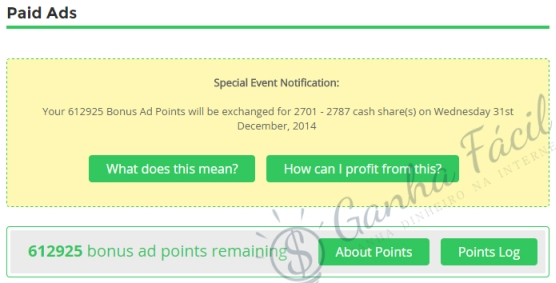paidverts mytrafficvalue shares bap swap exchange dinheiro ganha ganhar
