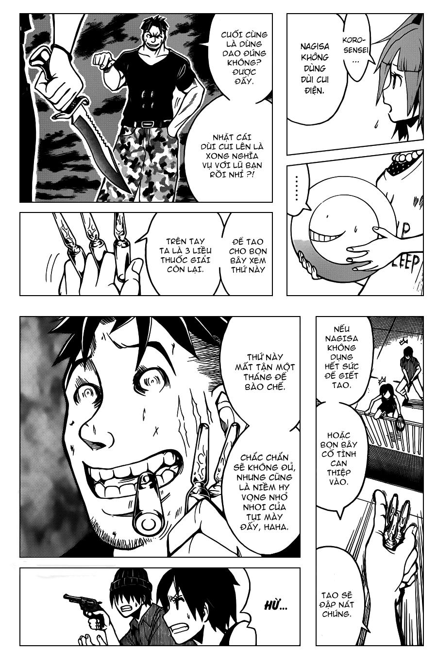 Ansatsu Kyoushitsu chap 71 trang 9