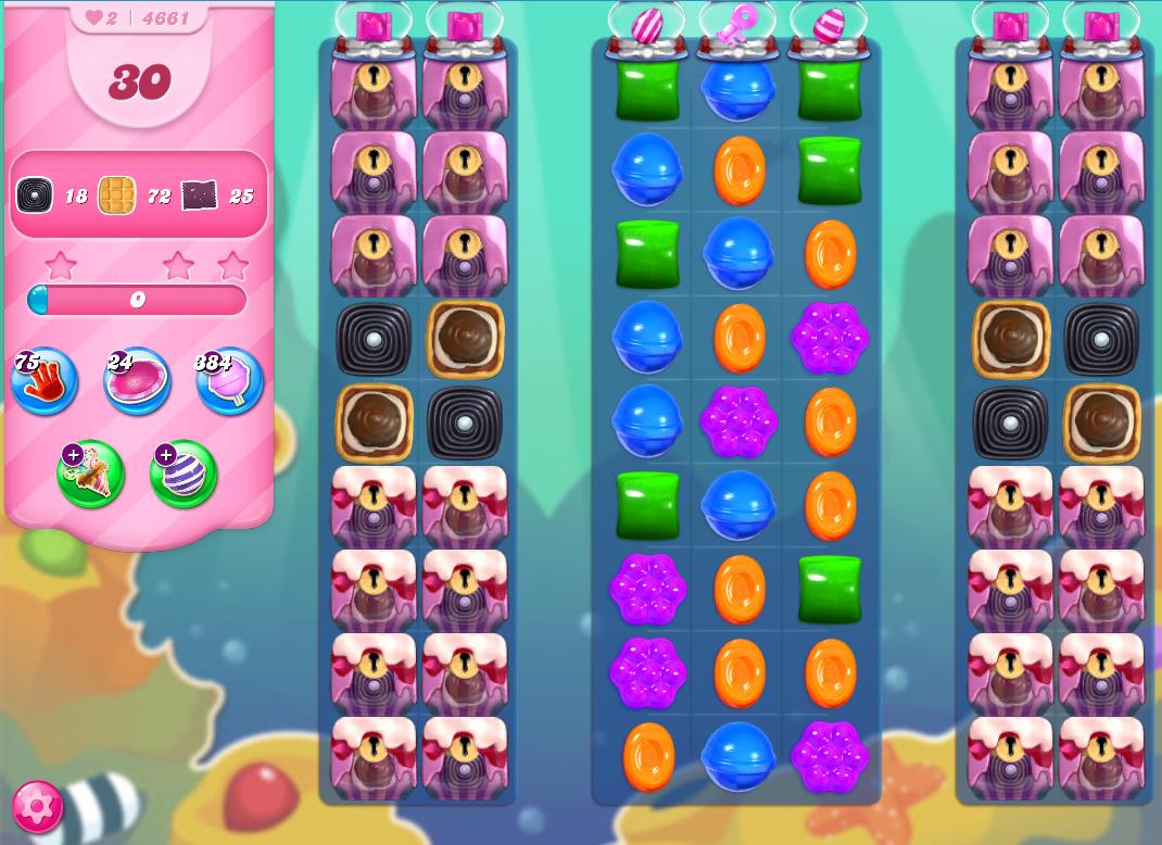 Candy Crush Saga level 4661