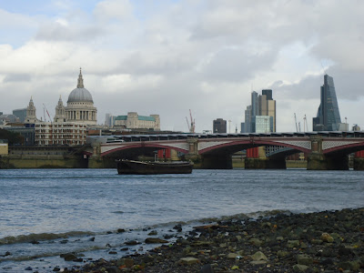 London during the day - taken from the Bank of the Thames