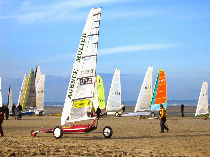 10 Best Places to Holiday in Belgium (100+ Photos) | Sand-Yachting on Oostduinkerke beach