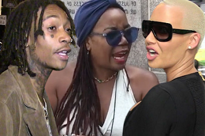 Wiz Khalifa's Mom Sues Amber Rose For Defamation