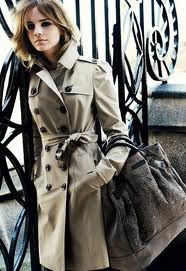 Emma Watson for Burberry