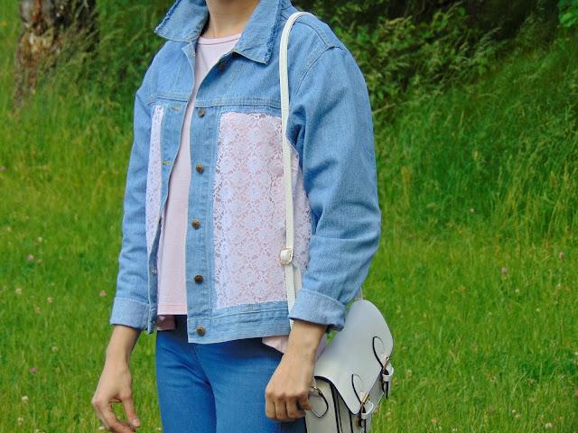 metamorfoza kurtki jeansowej