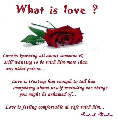 What Is Meaning Of Love: Prateek Mishra: What Is Real Meaning Of LOVE?