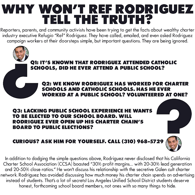 Why won't Ref Rodriguez tell the truth?