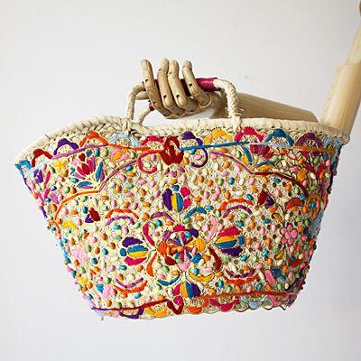 hasır çanta modelleri