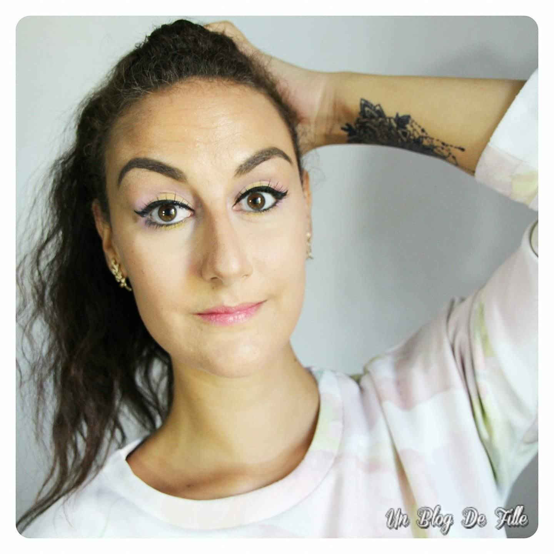 http://unblogdefille.blogspot.fr/2017/09/maquillage-rose-et-jaune-msc.html