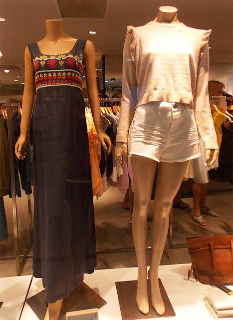 roupas loja em shopping punte del leste