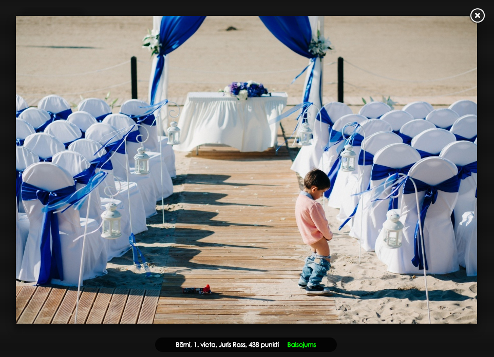 bērni kāzu ceremonjā