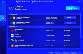 IObit Software Updater Latest Version V1.1.0.1872 Free Download