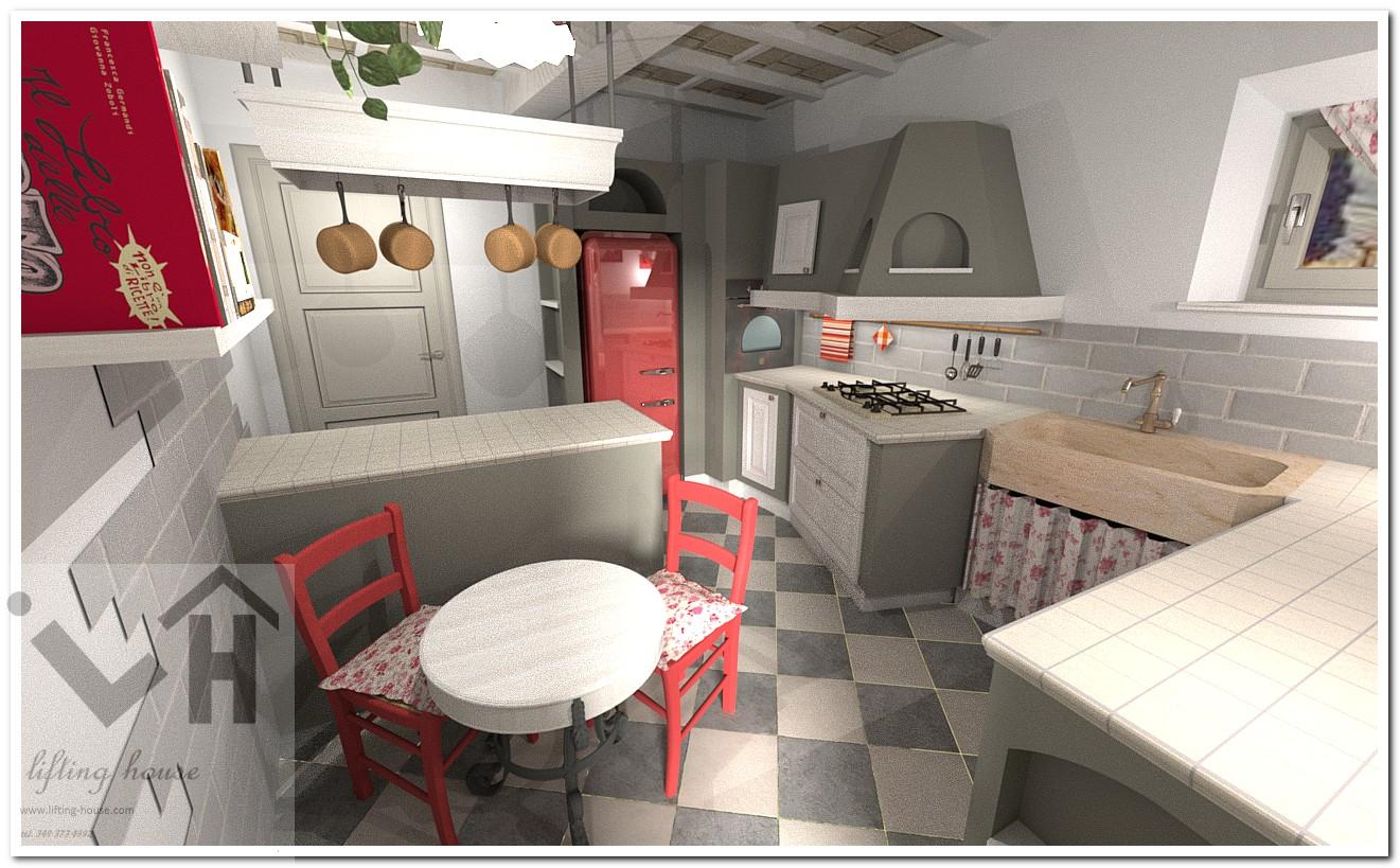 Ristrutturare casale in campagna cucina arredamento - Ristrutturare casale di campagna ...