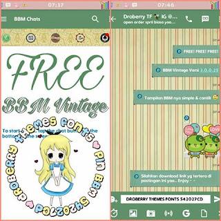 BBM MOD Vintage Theme V3.0.0.25 Apk