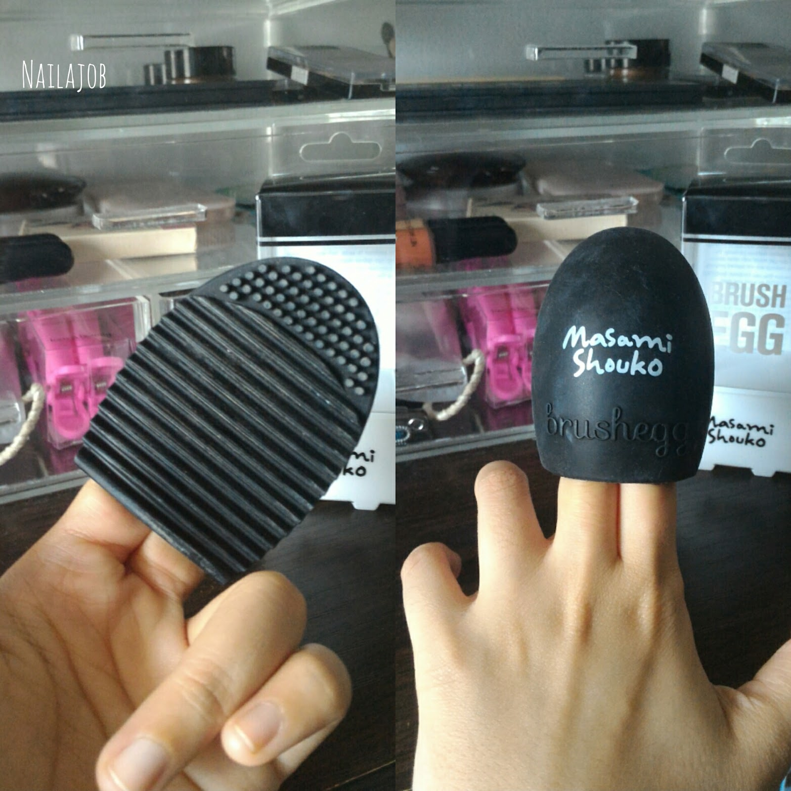 Masami Shouko Brush Egg Review Beauty Dgrad Deep Cleansing It Reminds Me With Finger Puppets