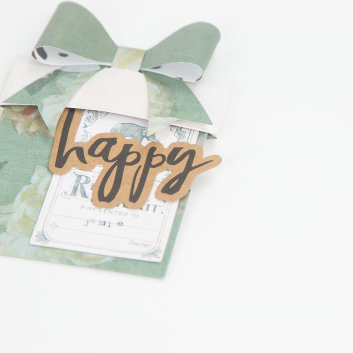 Interactive Gift Card Holders by @createoften for @heidiswapp