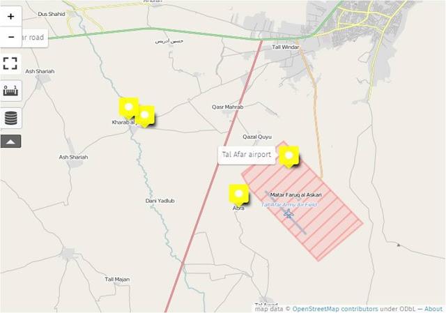 Οι δυνάμεις του PMF γύρω από την Tal Afar