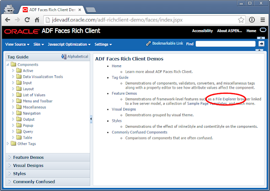 Testing ADF with Selenium WebDriver Page Objects