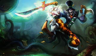 Chinese Mad Hatter Shaco Skin