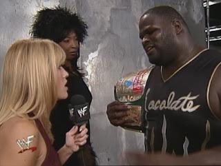 WWE / WWF - Unforgiven 1999 - Lilian Garcia interviews Sexual Chocolate Mark Henry