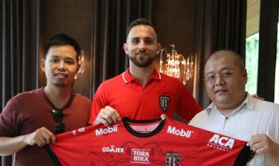 Eks Striker Persib Spaso Resmi Gabung Bali United