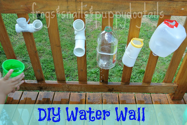 simple diy water wall project