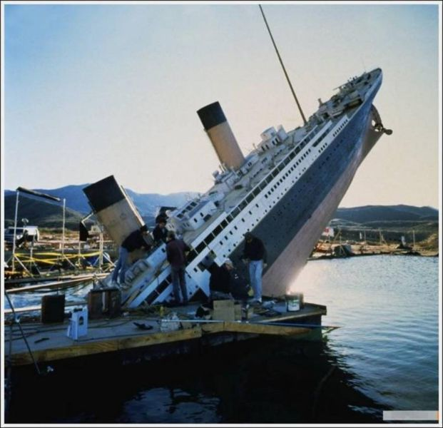 """Behind-the-scenes Of Making Of """"Titanic"""""""