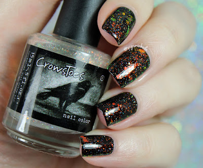 CrowsToes Nail Color Instant Xmas (Just Add Nails)
