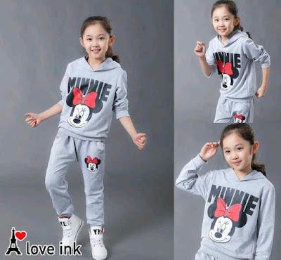 Jual Baju Anak Setelan Minnie (Kids) - 12301