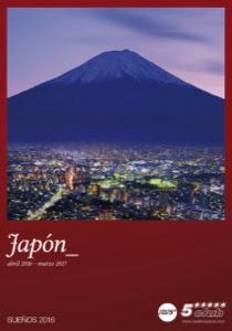 Catálogo de viajes Japón 2016-2017