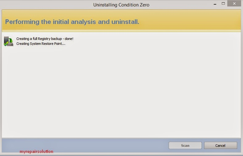 proses analysis revo uninstaller
