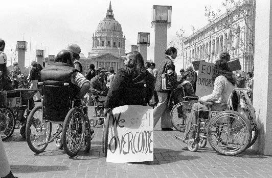 1977 disability protests in San Fransisco