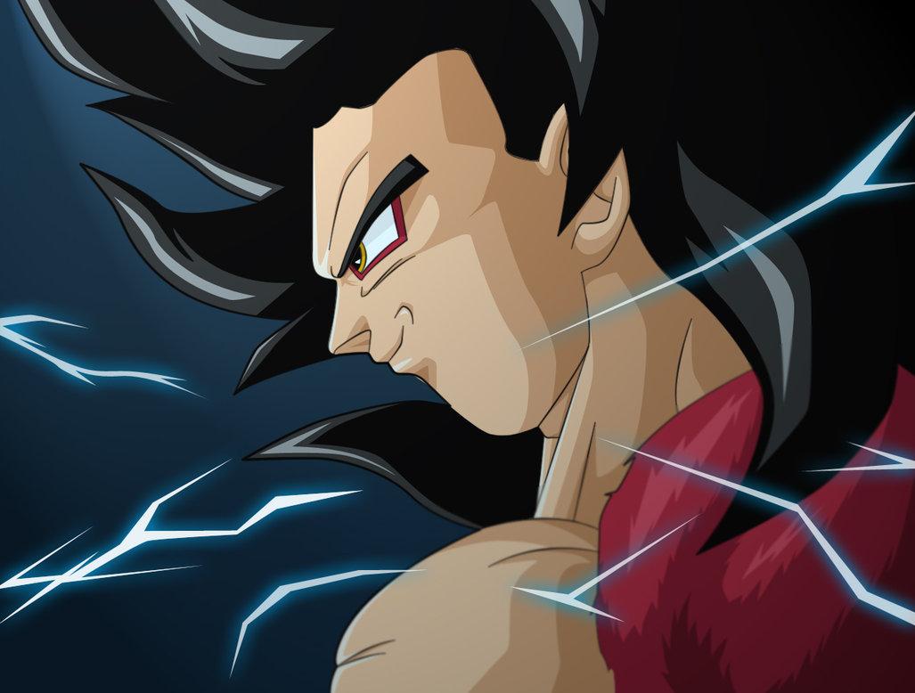 DRAGON BALL Z WALLPAPERS: Goku super saiyan 4