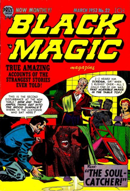 Simon-Kirby Black Magic 22