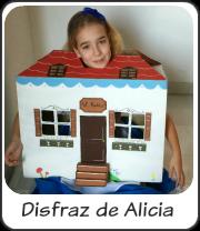 Disfraz de Alicia en el País de las Maravillas