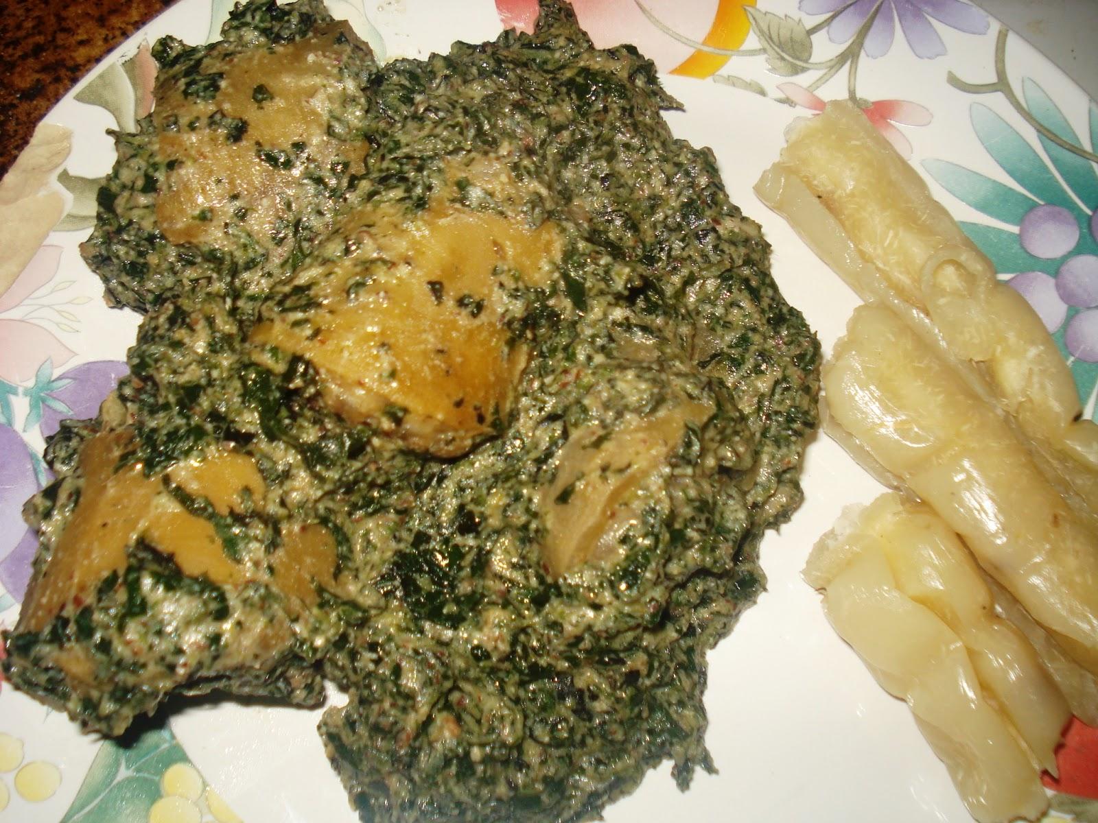 Ndole la queue de boeuf la cuisine camerounaise - Cuisine africaine camerounaise ...
