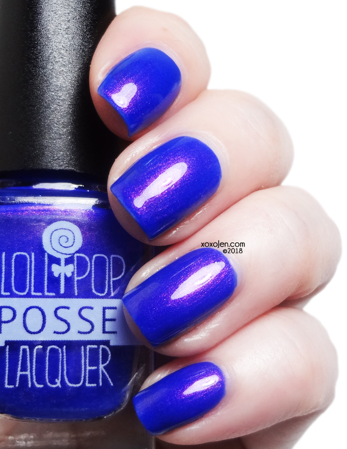 xoxoJen's swatch of Lollipop Posse Lacquer Talking to Myself at Night